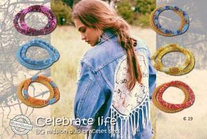 Celibrate life BG handmade mission duo bracelets